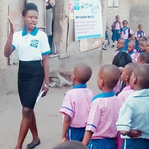 Uwandu Ruth Chiamaka at Call Me Favour School