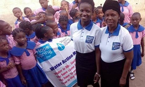 Uwandu Ruth Chiamaka & children of Call Me Favour School