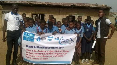 Water Action Month & World Water Day 2017