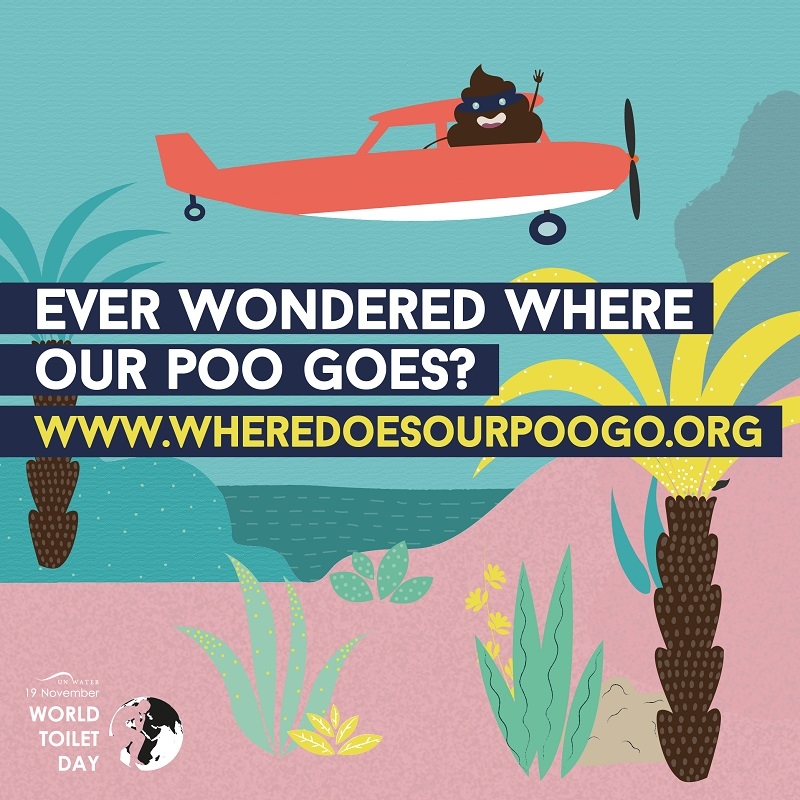 World toilet day 2017 - Where our poo goes