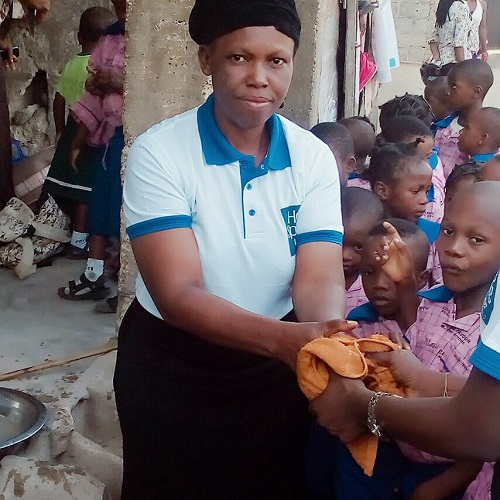 World Water Day & Water Action Month project report by Uwandu Ruth Chiamaka, Lagos.