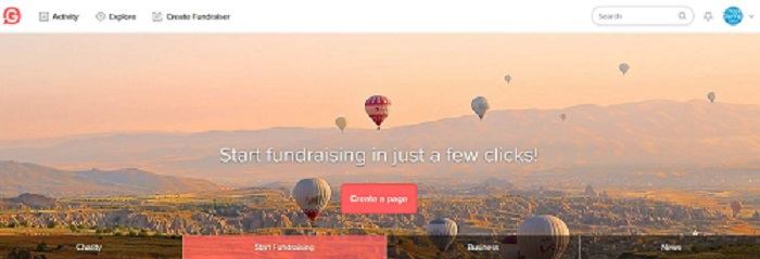 Support Hope Spring on Givey donation platform