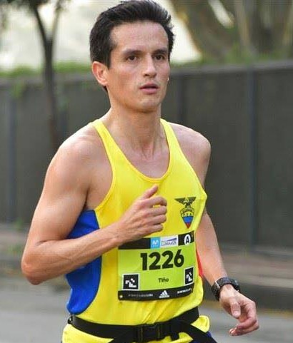 Cristian Patiño is running Marathon de Guayaquil for Hope Spring