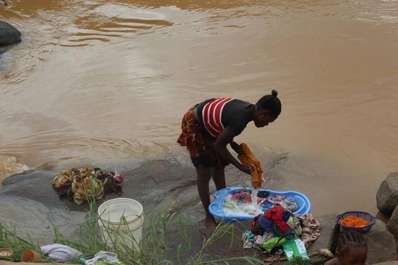 Zhidu community current source of water