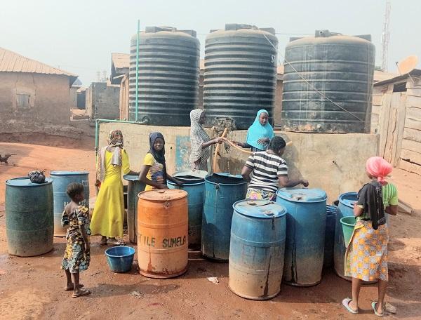Kongbari water project 4 years later