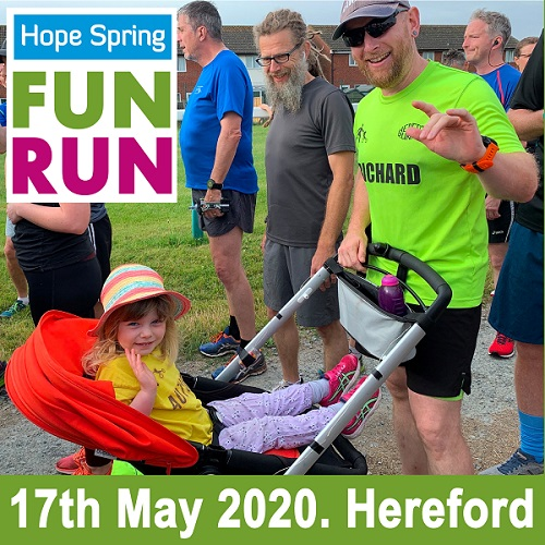 Hope Spring Fun run 2020